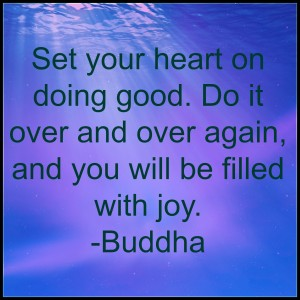 on doing good